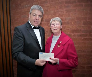 Cheque Presentation to The Royal British Legion